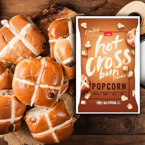 You Can Now Get Hot Cross Bun Popcorn And It's Cheap As Chips