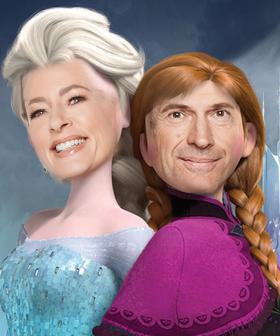 Director Of 'Frozen' Offers Jonesy & Amanda A Role In Next Disney Film