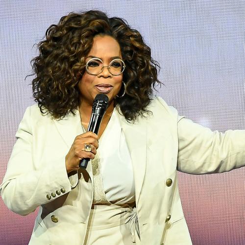 Oprah Winfrey Stacks It While Talking About 'Balance' At Her Speaking Tour