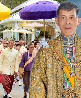 King Of Thailand Self-Isolates With Harem Of 20 Women