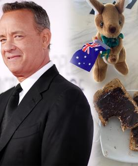 Tom Hanks Is Using His Self-Isolation Period To Learn How To Spread Vegemite