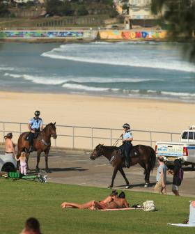Sydney Beachgoers Continue To Ignore Social Distancing Regulations