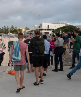 Hundreds Return To Bondi Beach After It Reopens