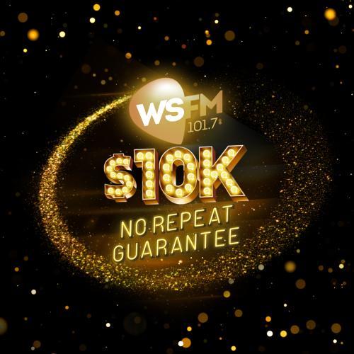 101.7 WSFM's $10K No Repeat Guarantee