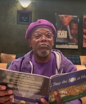 Samuel L. Jackson Reads A Book Called 'Stay The F--- At Home!', So We Best Do What He Says