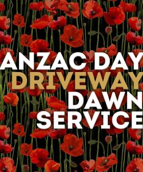 Join Us For Our Driveway Dawn Service On ANZAC Day