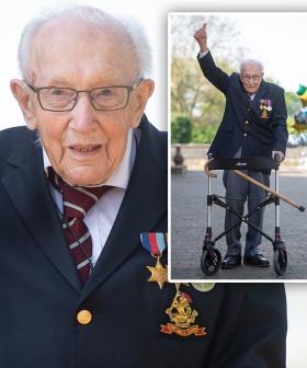 Fundraising Hero Captain Tom Moore To Be Knighted By Queen In Personal Ceremony