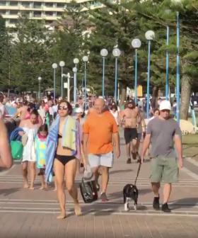 Sydney Beaches Crowded With People Despite Only Being Open For Three Hours For Exercise