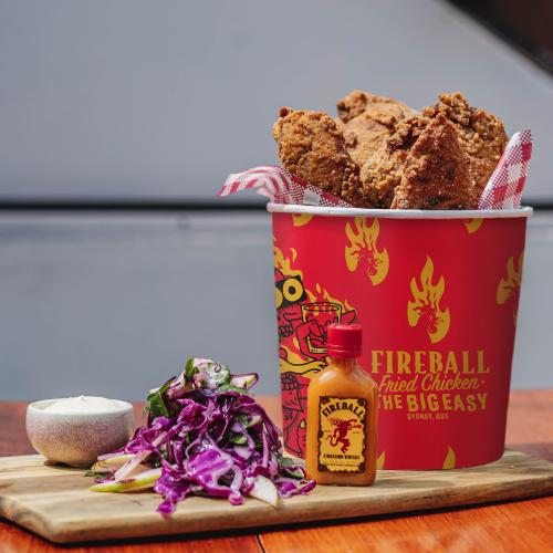 You Can Now Get Buckets Of Fireball Louisiana Fried Chicken Delivered