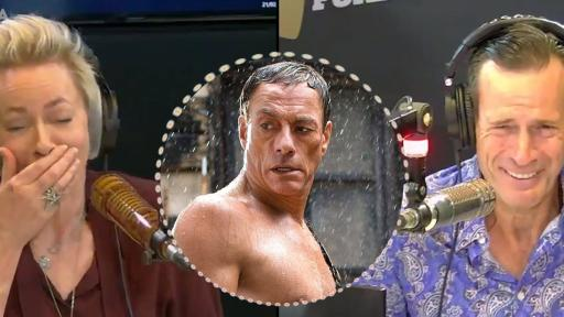 Jonesy & Amanda's AWKWARD Interview With Jean-Claude Van Damme