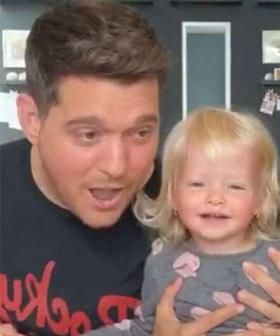 Michael Bublé's One-Year-Old Daughter Sings With Him In Adorable Instagram Live
