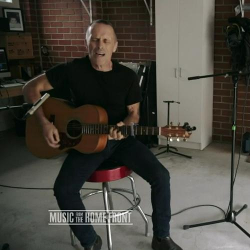 EXCLUSIVE: Michael Gudinski Reveals 'Music From The Home Front' Album