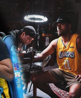 Nick Kyrgios Reveals Sleeve Tattoo Tribute To Kobe Bryant On Mamba Day