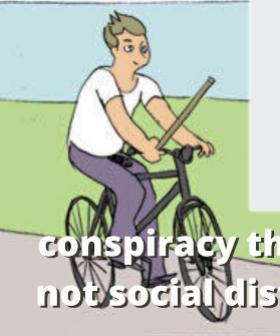 NSW Police Mock Coronavirus 5G Conspiracy Theorists With Savage Meme