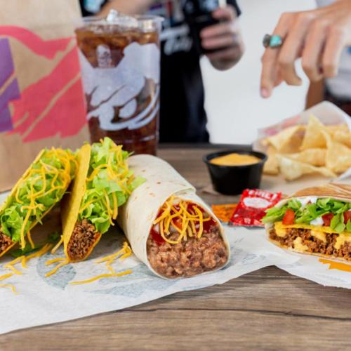 Taco Bell Is Offering Free Delivery With No Minimum Spend And Our Iso Body Is Ready