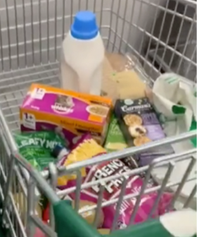 Woolworths Shopper Discovers Trolleys Slide Perfectly Into Self Serve Kiosks In The Ultimate Shopping Hack