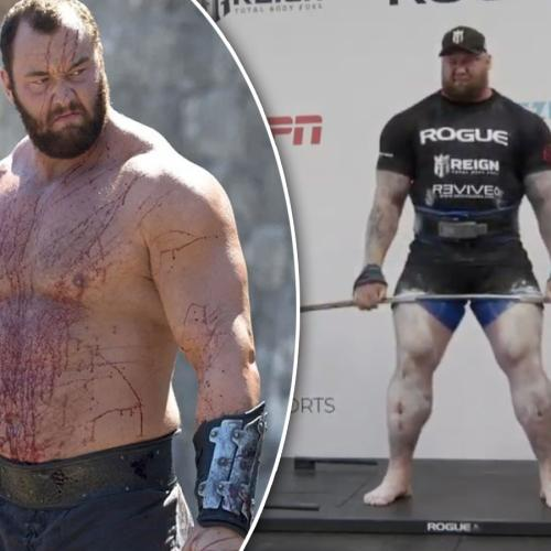 Game of Thrones Actor Lifts 501 KILOS!
