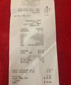 ALDI Faces Backlash After Customer Finds Odd Surcharge On Her Receipt