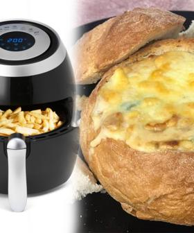 People Are Now Using Their Air Fryers To Create Cheese & Bacon Cob Loaves