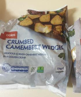 Coles Is Selling Crumbed Camembert Wedges For Just $5