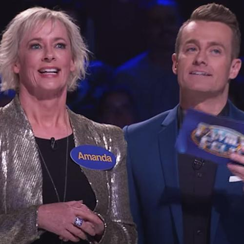 """We're Casting Now!"": Grant Denyer Urges Frontline Workers To Apply For 'Family Feud'"