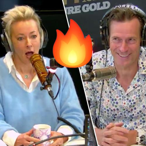 Did Brendan 'Jonesy' Jones Just FAT SHAME Amanda Keller Live On Radio?