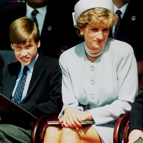 Prince William Wrote A Beautiful Letter To Princess Diana Charity From Him And Harry