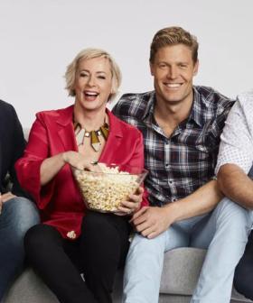 Good News! Amanda Keller Is Back Filming 'The Living Room'