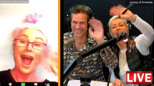 LIVE: Jonesy & Amanda Interview Deborra-Lee Furness