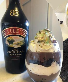 Woman Makes A Baileys PARFAIT Out Of A Woolies Mudcake