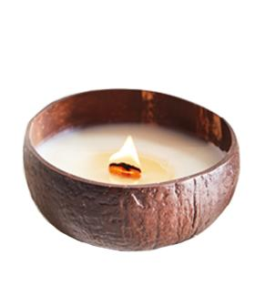 ALDI Is Selling This Coconut Candle Which Comes In A Coconut Shell!
