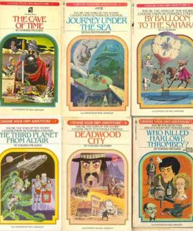Remember The 'Choose Your Own Adventure' Books? They Are Now Board Games!