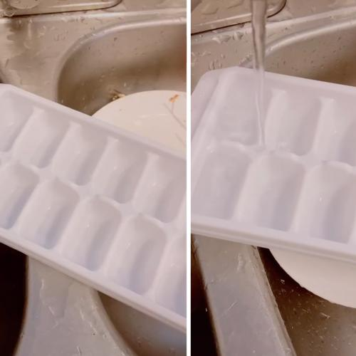 Apparently We've Been Filling Ice Trays Wrong This Whole Time!