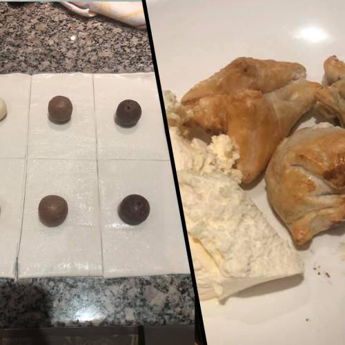 Have You Tried Wrapping Lindt Balls In Puff Pastry And Air Frying Them Yet?