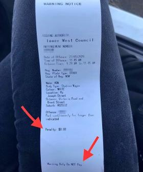Sydney Driver Left Gobsmacked After Copping This Parking Ticket