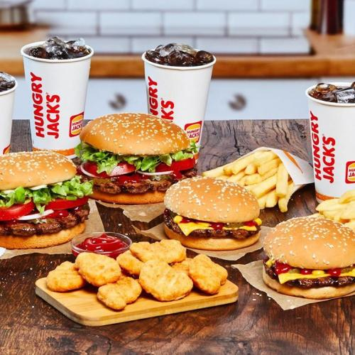 Want To Get Free Delivery On Hungry Jacks For The Next Fortnight?
