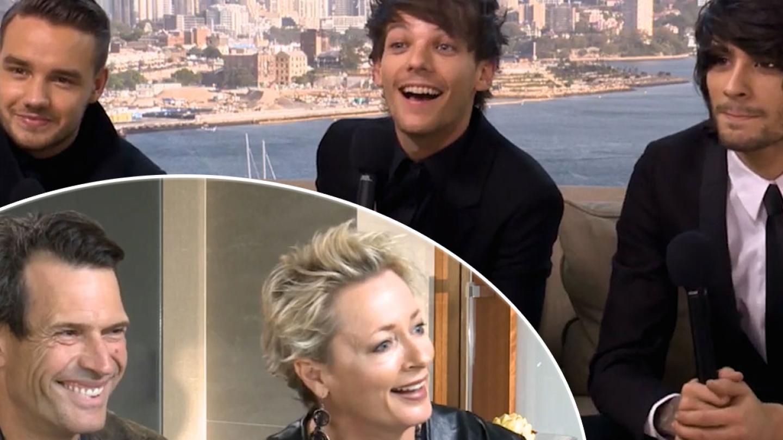 Remember When Jonesy & Amanda Met One Direction?