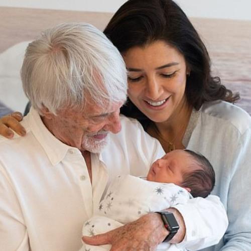 89-Year-Old F1 Mogul Bernie Ecclestone Welcomes Newborn Son