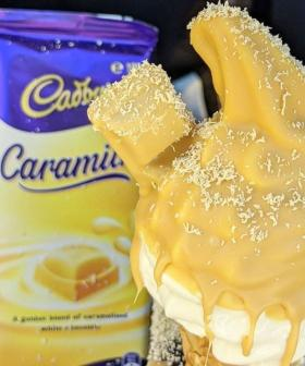 A Sydney Café Is Making Caramilk Choc Tops!