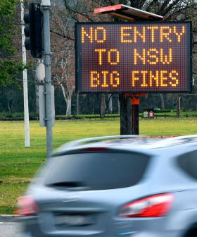 Victorian Man Charged After Allegedly 'Trying To Cross NSW Border'