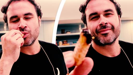 Miguel Maestre Makes Jonesy & Amanda His World Famous Churros