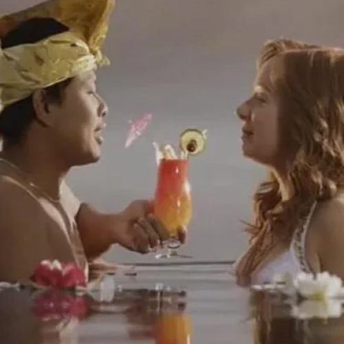 Our Favourite AAMI Couple, Rhonda And Ketut Are Still Together!