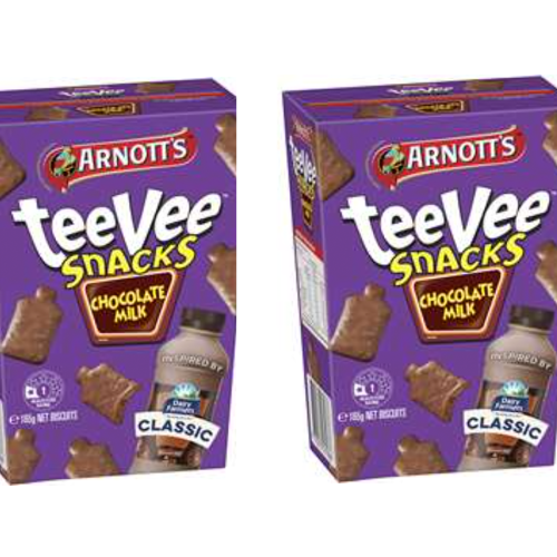 Arnott's Are Selling 'Chocolate Milk' Flavoured TeeVee Snacks!