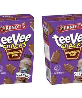 Arnott's Are Selling 'Chocolate Milk' Flavoured TeeVee Snacks!