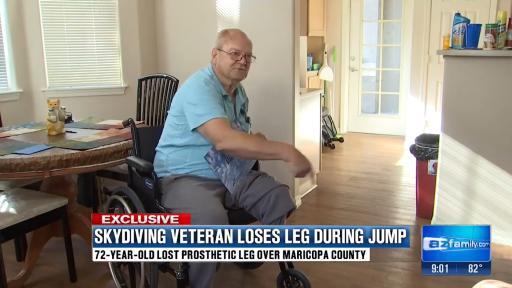 Man LOSES His Leg While Skydiving