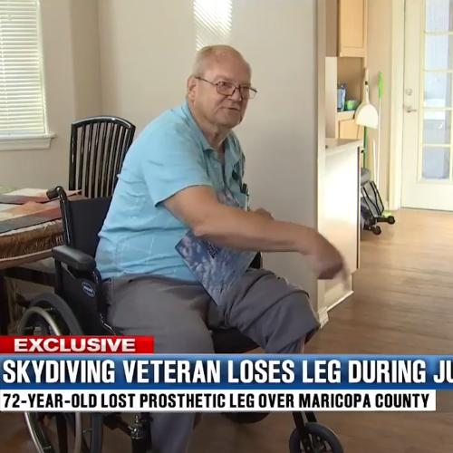 Man LOSES His Leg While Skydiving