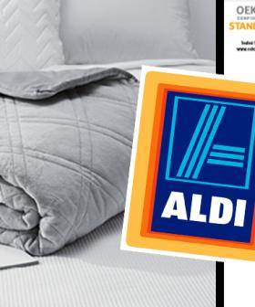 ALDI Is Now Selling Weighted Blankets And There's So Many Benefits