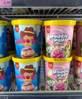 You Will Soon Be Able To Buy Bubble O'Bill & Rainbow Paddle Pops In Tubs