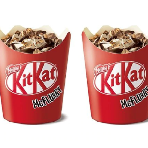 McDonalds Are About To Start Whipping Up KitKat McFlurries & Frappés