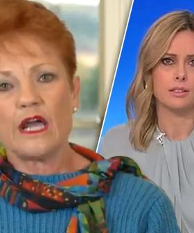 """""""Ill-Informed And Divisive"""": Pauline Hanson Banned From The Today Show"""